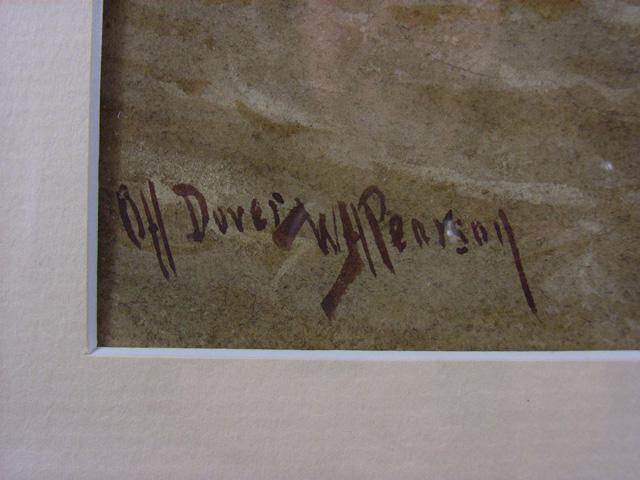 WH Pearson Off Dover - Signature