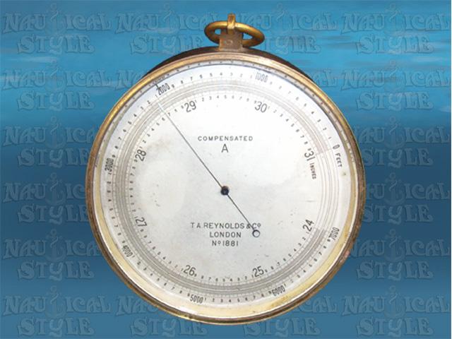 T A Reynolds Barometer Image 1