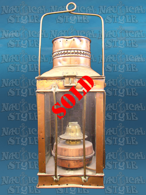 SKU17515 Anchor Lantern - SOLD