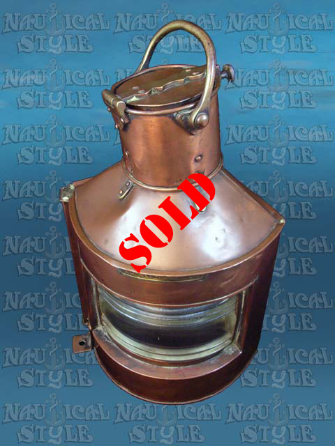 Bow Port Sidelight - SOLD