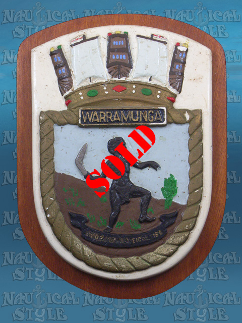 Warramunga Ship's Crest 1943 - SOLD