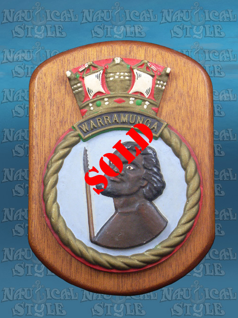 Warramunga Ship's Crest 1955 - SOLD