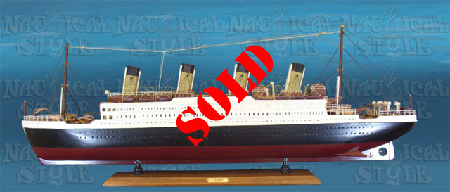 Scale Model of Titanic - SOLD