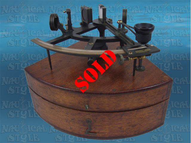 Henry Hughes Sextant Image-sold
