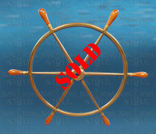Ship's Wheel - SOLD