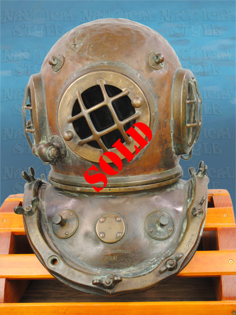 Siebe Gorman Diving Helmet - SOLD