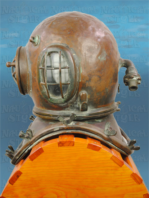 Siebe Gorman Diving Helmet - Img3