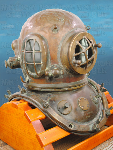 Siebe Gorman Diving Helmet - Img8