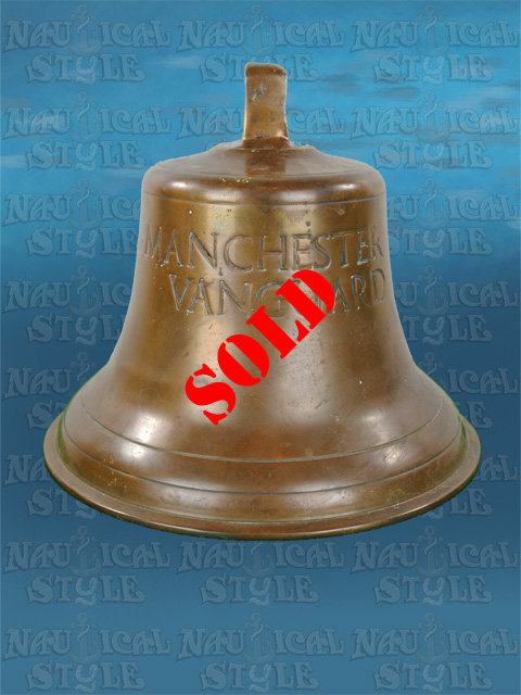 Ship's Bell, MV Manchester Vanguard 1956 - SOLD