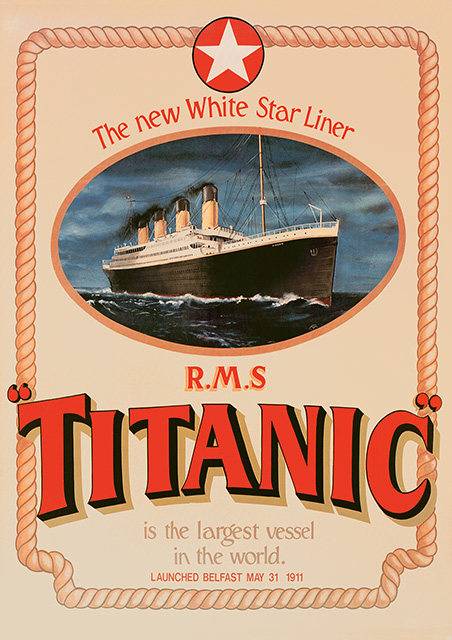 Titanic Poster - A2 Size