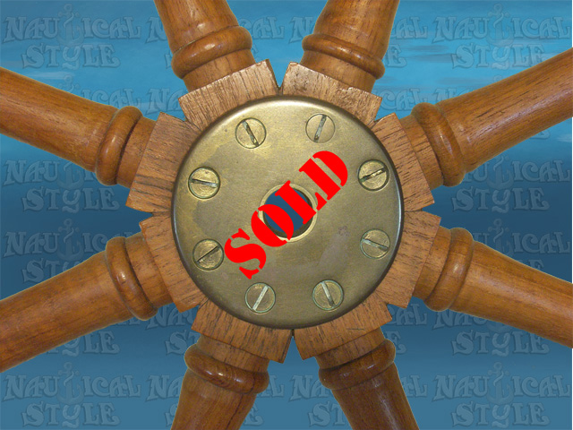Ship's wheel image 2 - SOLD