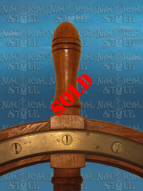 Ship's wheel image 3 - SOLD
