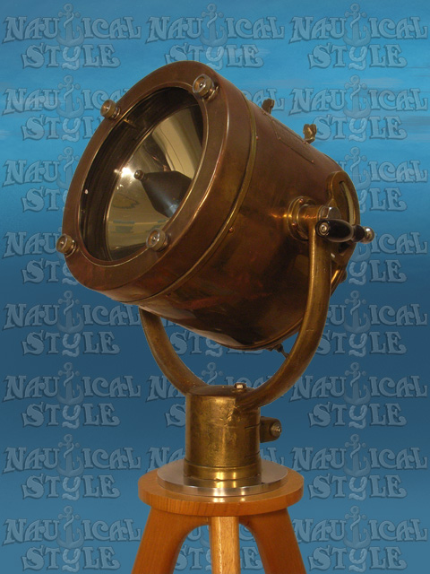 Ship's Daylight Signal Lamp/Searchlight, Circa. 1970