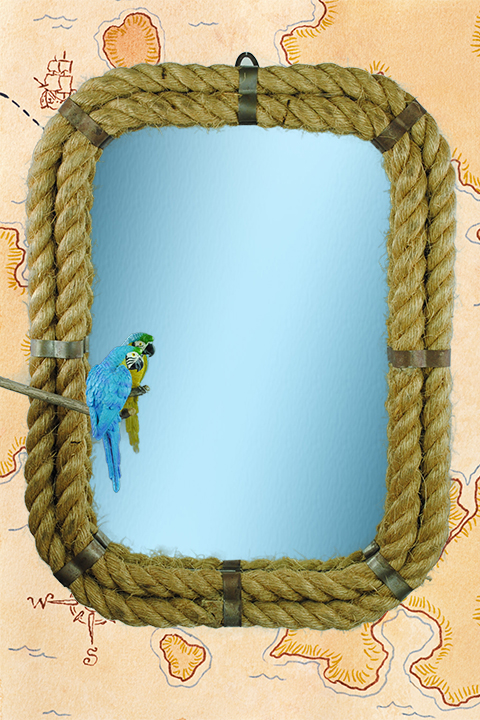 MIRROR - Rope Frame