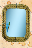 MIRROR - Rope Framed