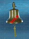 "Bronze Ship's Bell 24cm (9.5"") - Ex. Solomon Islands"