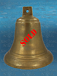 "Bronze Ship's Bell (Large) 32 cm (12.6"") Dia."