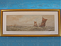 Watercolour by W.H. Pearson, 'Off Dover'