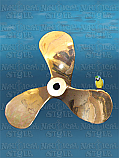 "Bronze Propeller from Port Adelaide Work Boat ""Trojan"""