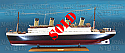 "RMS Titanic Model, 40"" (101.5 cm)"